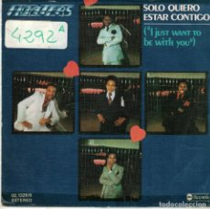 Discos de vinilo: FLOATERS - I JUST WANT TO BE WITH YOU / WHAT EVER YOUR SIGN (SINGLE ESPAÑOL, ABC RECORDS 1977). Lote 91239130