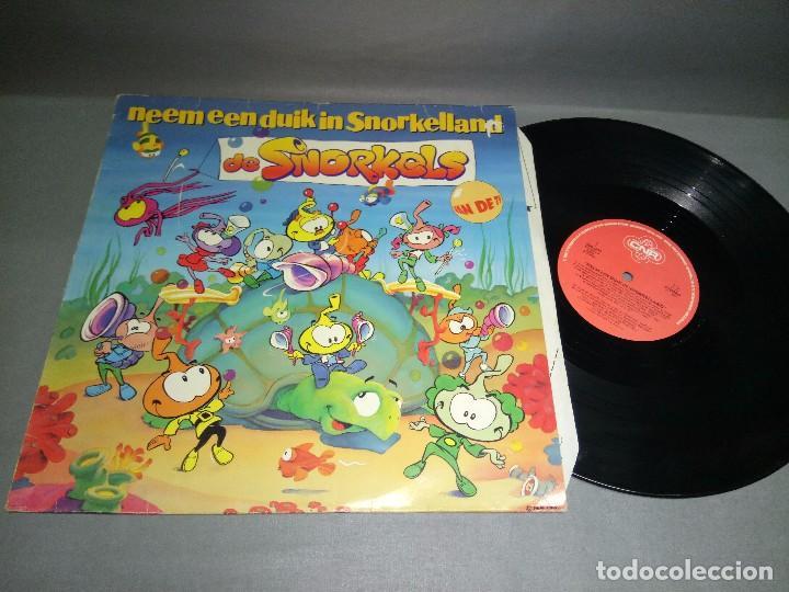 918- DE SNORKELS DISCO VINILO LP- PORTADA VG DISCO VG +/++ (Música - Discos - LP Vinilo - Otros estilos)