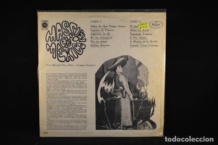Discos de vinilo: MASSIEL - MASSIEL EN MEXICO - LP - Foto 2 - 91244530