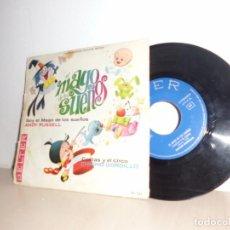 Discos de vinilo: EL MAGO DE LOS SUEÑO-ANDY RUSSELL -BELTER- COLITAS Y EL CIRCO -CHICHO GORDILLO AÑO 1965 . Lote 91250565