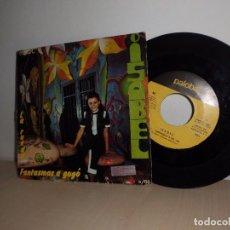 Discos de vinilo: ISABEL-FAMTASMAS A GOGO-LA RUEDA-IV FESTIVAL DE LA CANCION INFANTIL -PAOBA-AÑO 1970. Lote 91252255
