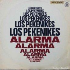 Discos de vinilo: LOS PEKENIKES. ALARMA. LP ORIGINAL. Lote 91259455