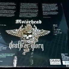 Discos de vinilo: MUSICA LP MOTORHEAD DEATH OR GLORY BASTARDS 2013 HOLANDA PRECINTADO COLECCION LEMMY. Lote 91266195