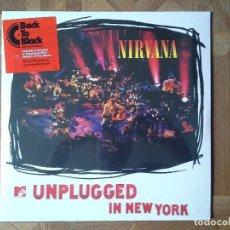 Discos de vinilo: NIRVANA - UNPLUGGED IN NEW YORK - REEDICIÓN 2009 4º LP 1994 - PRECINTADO. Lote 91275695