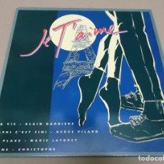 Discos de vinilo: ALAIN BARRIERE, HERVE VILARD, MARIE LAFORET, CHRISTHOPE (MX) MA VIE +3 TRACKS (JE T'AIME) AÑO 1992. Lote 91285945