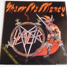 Discos de vinilo: SLAYER. LP. SHOW NO MERCY. EDICIÓN HOLANDESA. ROADRUNNER 1984. Lote 91286280