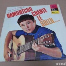 Discos de vinilo: RAMUNTCHO (LP) CHANTE LE SOLEIL AÑO 1964 – EDICION FRANCIA. Lote 91287920