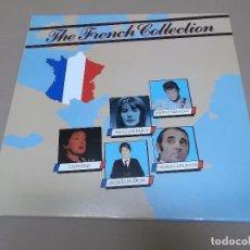 Discos de vinilo: THE FRENCH COLLECTION (LP) J. HALLYDAY, F. HARDY, EDITH PIAF, JACQUES DUTRONC AÑO 1990. Lote 91288690