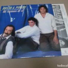 Discos de vinilo: RICCHI E POVERI (LP) ME ENAMORO DE TI AÑO 1982 – ENCARTE INTERIOR + HOJA PROMOCIONAL. Lote 91289660