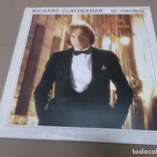 Discos de vinilo: RICHARD CLAYDERMAN (LP) EN CONCIERTO – COUP DE COEUR AÑO 1981 – DOBLE DISCO CON PORTADA ABIERTA. Lote 91292945