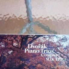 Discos de vinilo: DVORAK : COMPLETE PIANO TRIOS 3 LP. Lote 91294215