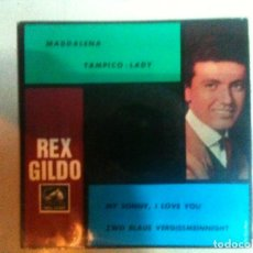 Discos de vinilo: REX GILDO. Lote 89834596