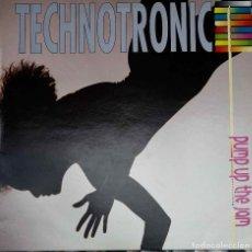 Discos de vinilo: TECHNOTRONIC. PUMP UP THE JAM. LP ESPAÑA. Lote 91336355