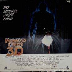Dischi in vinile: THE MICHAEL ZAGER BAND.VIERNES 13 3ª PARTE 3D. MAXI SINGLE ESPAÑA 2 TEMAS. Lote 91339020