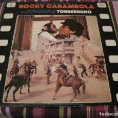 Discos de vinilo: LP-ROCKY CARAMBOLA TORREBRUNO COLUMBIA 9621 SPAIN 1979. Lote 91342560