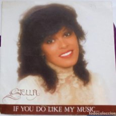Discos de vinilo: STELLA - IF YOU DO LIKE MY MUSIC + RENEGADE SINGLE 1982 SPAIN / EX. Lote 130665255