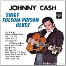 Discos de vinilo: JOHNNY CASH * LP 180G HQ VINYL+ CD * SINGS FOLSOM PRISON BLUES * LTD * PRECINTADO. Lote 142239514