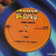 Discos de vinilo: BOBBY BROWN - BEST OF. Lote 91355710