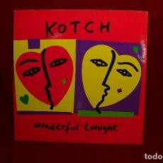 Discos de vinilo: KOTCH / WONDERFUL TONIGHT / HEARTBREAK / ISLAND, 1989, UK.. Lote 91362145