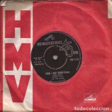 Discos de vinilo: SINGLE- JOHNNY KIDD & THE PIRATES HMV 1173 UK 1963. Lote 91376085