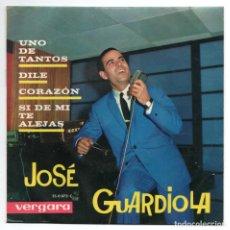 Discos de vinilo: DISCO EP 45 RPM - JOSÉ GUARDIOLA (VERGARA 350072). Lote 91382175