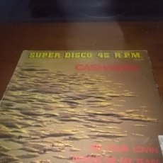 Discos de vinilo: SIN DISCO. SUPER DISCO 45. R. P. M. CASHMERE. TRY YOUR LOVIN TRACKS OF MY TEARS. C14V. Lote 91383020