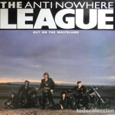 "Discos de vinilo: THE ANTINOWHERE LEAGUE : OUT ON THE WASTELAND. (12"" MAXI. DRO, 1985). Lote 91383530"