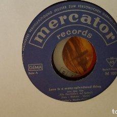 Discos de vinilo: SINGLE - MERCATOR'S STUDIO ORCHESTER ?– ALLE HERRLICHKEIT AUF ERDEN (LOVE IS A MANY-SPLENDORED THING. Lote 91394865