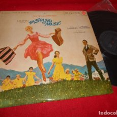 Discos de vinilo: SONRISAS Y LAGRIMAS THE SOUND OF MUSIC BSO OST LP 1965 RCA EDICION ESPAÑOLA SPAIN. Lote 91422400