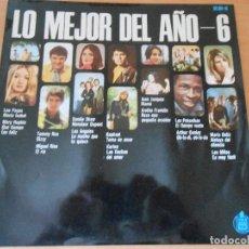 Discos de vinilo: LO MEJOR DEL AÑO VOL. 6, LP, ARETHA FRANKLIN - REZO UNA PEQUEÑA ORACION + 13, AÑO 1969. Lote 91429005