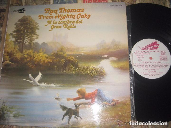RAY THOMAS A LA SOMBRA DEL GRAN ROBLE MOODY (THESHOD-1975) +ENCARTE OG ESPAÑA EXCELENTE CONDICION (Música - Discos - LP Vinilo - Pop - Rock Extranjero de los 50 y 60)