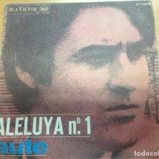 Discos de vinilo: SINGLE AUTE / ALELUYA Nº 1 / ROJO SOBRE NEGRO RCA VICTOR . Lote 91436415