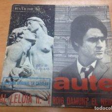 Discos de vinilo: SINGLE AUTE CANTA EN CATALAN / AL-LELUIA / ROIG DAMUNT EL NEGRE RCA VICTOR . Lote 91436500
