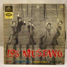 Discos de vinilo: FF - LOS MUSTANG MI VIDA / Y VOLVAMOS AL AMOR / UN MUNDO SIN AMOR / CONOCERTE MEJOR EP AÑO 1964. Lote 91457440