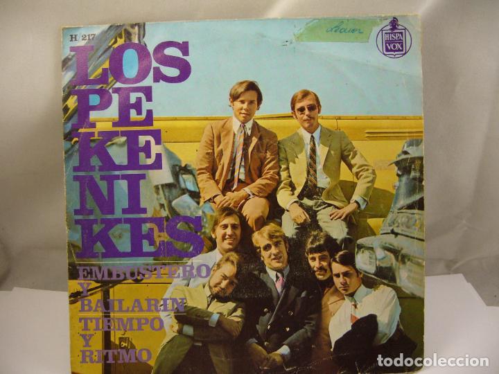 LOS PEKENIKES EMBUSTERO Y BAILARIN / TIEMPO Y RITMO (1967 HISPAVOX ESPAÑA) (Música - Discos de Vinilo - Maxi Singles - Grupos Españoles 50 y 60)