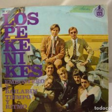 Discos de vinilo: LOS PEKENIKES EMBUSTERO Y BAILARIN / TIEMPO Y RITMO (1967 HISPAVOX ESPAÑA). Lote 91457495