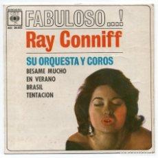 Discos de vinilo: DISCO EP 45 RPM - RAY CONNIFF (AGS 20022). Lote 91472855