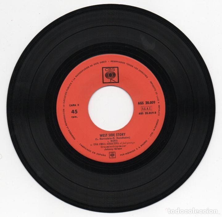 Discos de vinilo: DISCO EP 45 RPM - WEST SIDE STORY (AGS 20009) - Foto 2 - 91473685