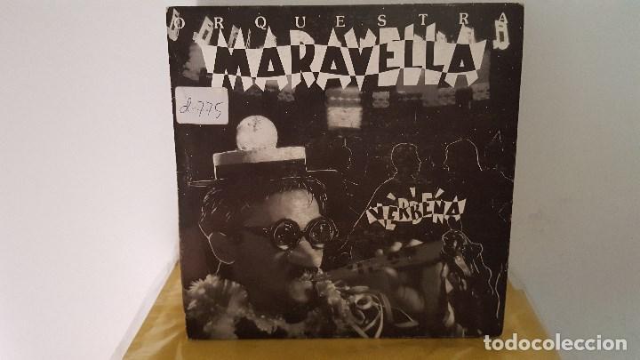 SINGLE SIDED - ORQUESTRA MARAVELLA - VERBENA - PICAP 60 0120 - 1992 - PROMO (Música - Discos - Singles Vinilo - Orquestas)