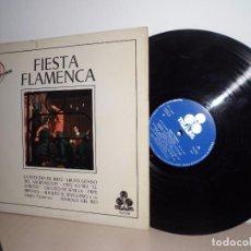 Discos de vinilo: FIESTA FLAMENCA TREBOL GRAN DIFUSION AÑO 1970-SPAIN . Lote 91531145