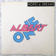 Discos de vinilo: MAXI-SINGLE - ALBERT ONE - HOPES & DREAMS - ONE RECORDS - 1987 (ITALO-DISCO). Lote 105889831