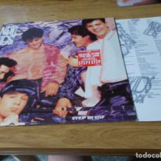 Discos de vinilo: NEW KIDS ON THE BLOCK. STEP BY STEP. Lote 91559625