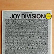 Discos de vinilo: JOY DIVISION - THE PEEL SESSIONS - LP DISCO VINILO. Lote 140625872