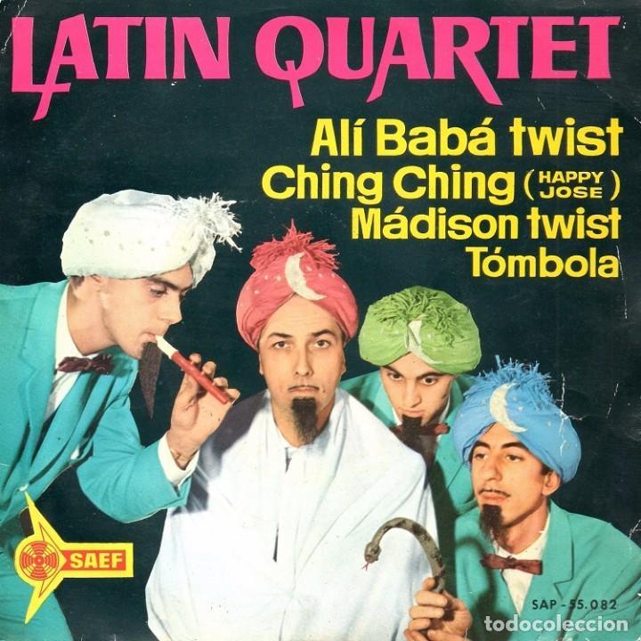 LATIN QUARTET 1962 SAEF SAP 55.082 (Música - Discos de Vinilo - EPs - Grupos Españoles 50 y 60)
