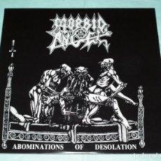 Discos de vinilo: LP MORBID ANGEL - ABOMINATIONS OF DESOLATION. Lote 91597385