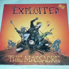 Discos de vinilo: LP THE EXPLOITED - THE MASSACRE. Lote 91597500