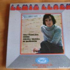 Discos de vinilo: LLUIS LLACH EP MOVIEPLAY 1970 CELS TRENCATS/ SOMNI +2 FOLK CATALAN SERRAT Mª MAR BONET. Lote 183415105