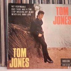 Discos de vinilo: TOM JONES - NOT RESPONSIBLE. Lote 91628055