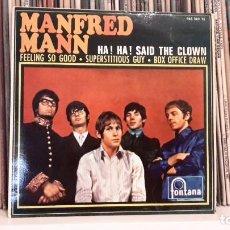 Discos de vinilo: MANFRED MAN - HA! HA! SAID THE CLOWN. Lote 91629070