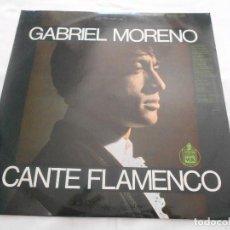 Discos de vinilo: GABRIEL MORENO // CANTE FLAMENCO // AÑO 1967. Lote 91643550